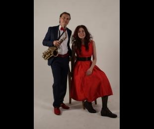 Анастасия Гончарова и Алексей Скрипниченко 25.08 в 19:00 (блюз: фортепиано, саксофон)
