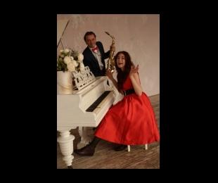 7.11 в 20:00 Анастасия Гончарова и Алексей Скрипниченко (дуэт: саксофон, фортепиано)