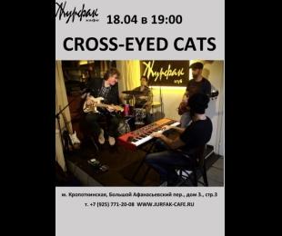 блюз с CROSS-EYED CATS